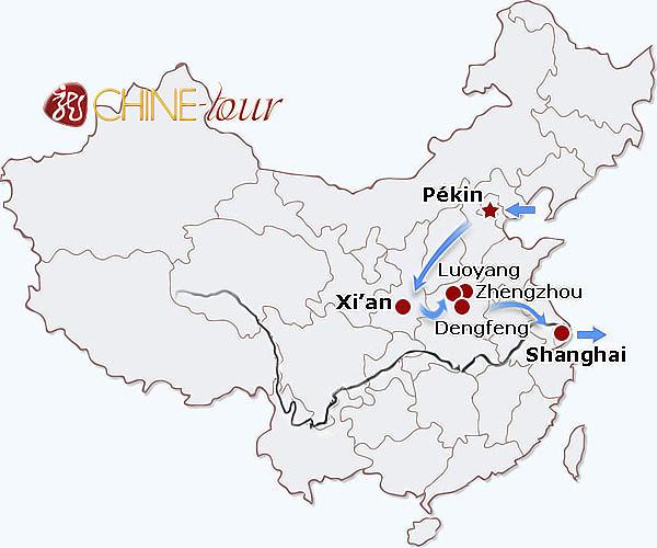 la l u00e9gende du kung fu  u2013 tours classiques  circuit en chine