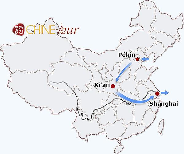 Carte Chine Pekin Shanghai.Tour Triangle 8 Jours De Pekin A Shanghai Tours Classiques